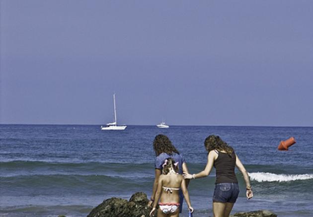Playa de Santa Marina, Ribadesella
